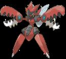 Scherox |  | Ken Sugimori-Artwork zu Mega-Scherox.