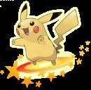 Pikachu | Artwork | Pokémon Global Link Pikachu Artwork