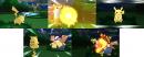 Pikachu | Screenshot | Pikachu Event mit der Attacke Megakick zur Fußball-WM 2014