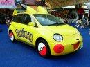 Pikachu | Foto | Toyota präsentiert  auf einer Ausstellung im Jahr 2005 ein Auto im speziellen Pikachu-Design. Bildquelle: Gnsin von Wikipedia.