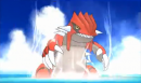 Groudon | Screenshot | Groudon in einem Trailer zu Pokémon Omega Rubin