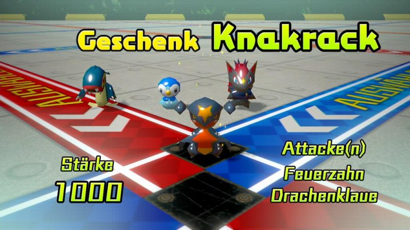 Knakrack in Pokémon Rumble U