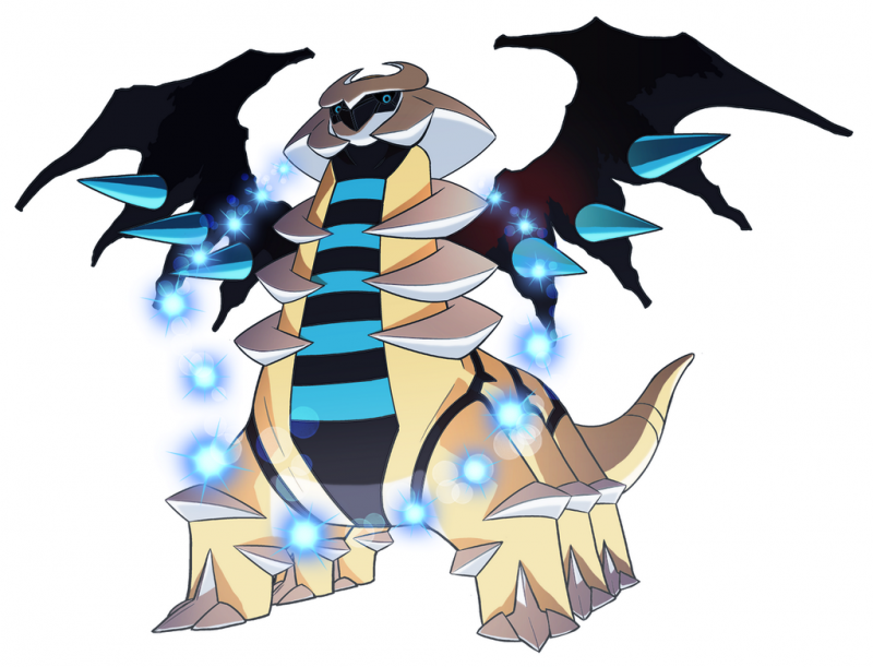 Giratina pok mon 487 im pok dex - Evolution pokemon legendaire ...