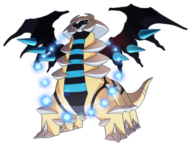 Giratina pok mon 487 im pok dex - Pokemon saphir pokemon legendaire ...