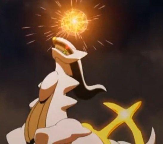 Arceus Pokémon 493 Im Pokédex