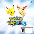 Victini | Artwork | Pikachu und Victini auf dem Artwork zu Pokémon Rumble U.