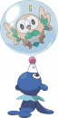 Bauz |  | Alternatives Sugimori-Artwork zu Bauz und Robball.