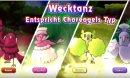 Choreogel | Screenshot | Screenshot von allen Formen von Choreogel aus Pokémon Sonne und Mond.
