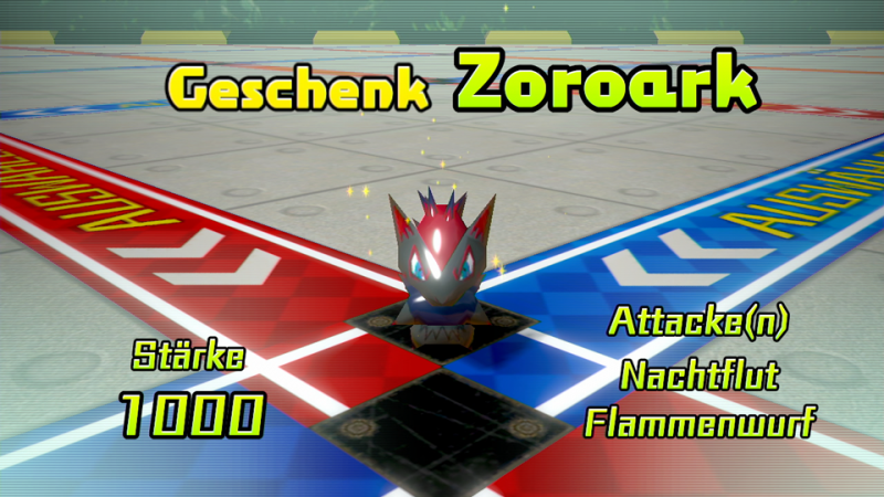 Zoroark in Pokémon Rumble U