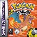 Glurak | Merchandise | Cover der Pokémon Edition Feuerrot.