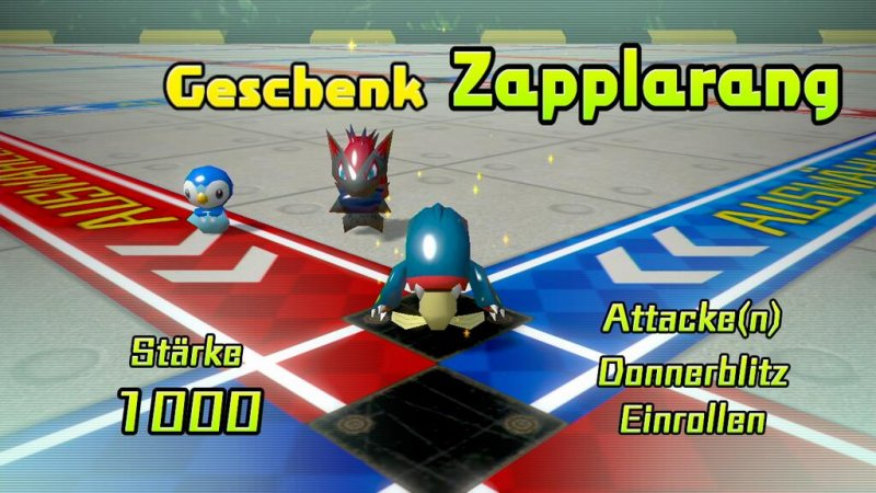 Zapplarang in Pokémon Rumble U