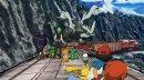 Kyurem   Pokémon-Film   Kyurem auf dem Dach eines Zuges im 15. Pokémon Kinofilm.