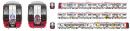 Genesect | Promotion | Zug im Design des 16. Pokémon Kinofilm der Nagoya Eisenbahn Meitetsu mit Mewtu und Genesect