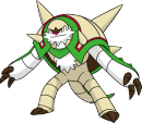Brigaron | Artwork | Pokémon Global Link Artwork