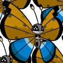 Vivillon | Artwork | Pokémon Global Link Artwork zum Flussdeltamuster