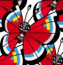 Vivillon | Artwork | Pokémon Global Link Artwork zum Innovationsmustermuster