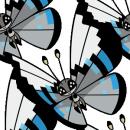 Vivillon | Artwork | Pokémon Global Link Artwork zum Monsunmuster