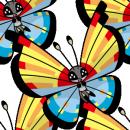 Vivillon | Artwork | Pokémon Global Link Artwork zum Ozeanmuster