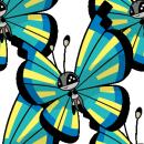 Vivillon | Artwork | Pokémon Global Link Artwork zum Savannenmuster