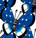 Vivillon | Artwork | Pokémon Global Link Artwork zum Schneefeldmuster