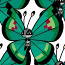 Vivillon | Artwork | Pokémon Global Link Artwork zum Ziergartenmuster