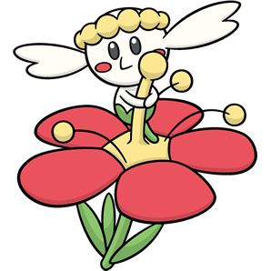 pokemon coloring pages flabebe flower - photo#10