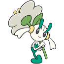 Floette | Artwork | Pokémon Global Link Artwork Weißblütler
