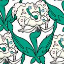 Florges      Pokémon Global Link Artwork Weißblütler