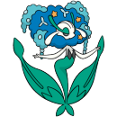 Florges | Artwork | Pokémon Global Link Artwork Blaublütler