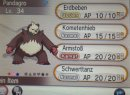 Pandagro | Screenshot | Ein shiny Pandrago in Pokémon X/Y