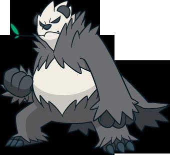 Pandagro Pokémon 675 Im Pokédex
