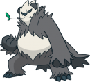 Pandagro | Artwork | Pokémon Global Link Artwork