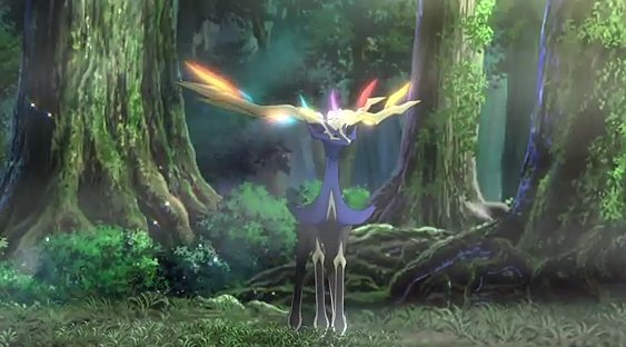 Xerneas Pokémon 716 Im Pokédex