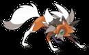 Wolwerock |  | Sugimori-Artwork von Wolwerocks Zwielichtform