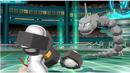 Melmetal | Screenshot | Melmetal setzt zu seiner Signaturattacke Panzerfäuste im Kampf ein.