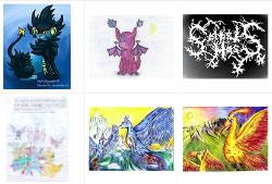 Pokémon-Zeichnungen in der Fanart-Galerie