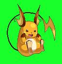 Raichu-Sprite aus Pokémon Conquest
