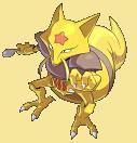 Kadabra-Sprite aus Pokémon Conquest