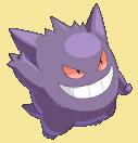 Gengar-Sprite aus Pokémon Conquest