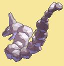 Onix-Sprite aus Pokémon Conquest
