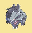 Rihorn-Sprite aus Pokémon Conquest