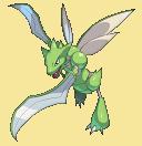 Sichlor-Sprite aus Pokémon Conquest