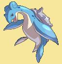 Lapras-Sprite aus Pokémon Conquest