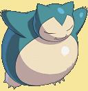 Relaxo-Sprite aus Pokémon Conquest