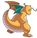Dragoran-Sprite aus Pokémon Conquest