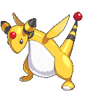 Ampharos-Sprite aus Pokémon Conquest