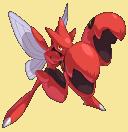 Scherox-Sprite aus Pokémon Conquest