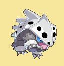 Stollrak-Sprite aus Pokémon Conquest