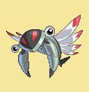 Anorith-Sprite aus Pokémon Conquest