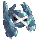 Metagross-Sprite aus Pokémon Conquest